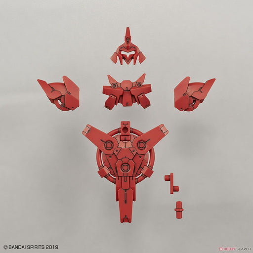 30 Minute Missions - Option Armor For Commander Type Portanova Exclusive Red - Bandai Model Kit