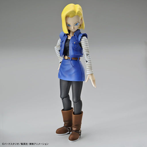 Dragon Ball - Android 18 New Pkg Ver. - Bandai Figure-rise Standard Model Kit