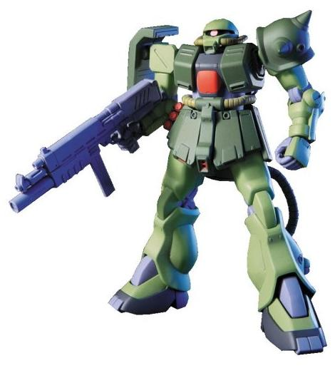 Mobile Suit Gundam 0080 - MS-06F Zaku II FZ - Bandai Model Kit Sep 2020
