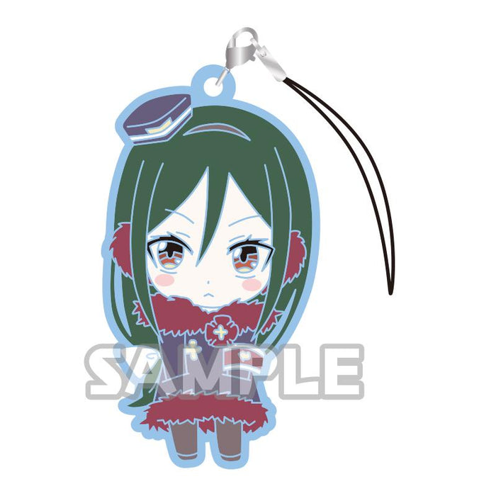 Re: Zero Winter Ver. Character Capsule Rubber Mascot Strap