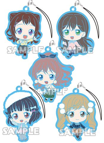 Bang Dream! Poppin'Party Bandori Capsule Rubber Strap Mascot Vol.2