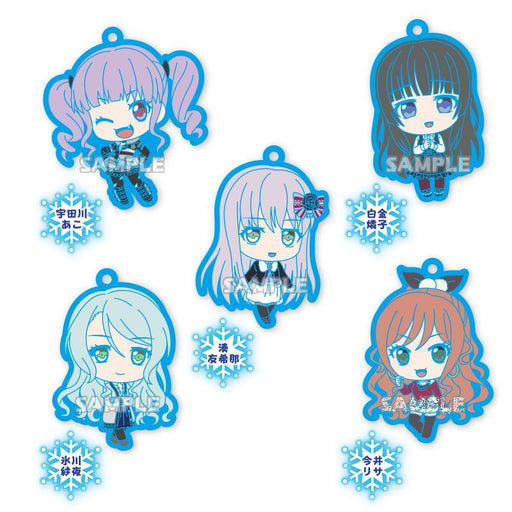 Bang Dream! Roselia Character Capsule Rubber Mascot Strap Vol.2