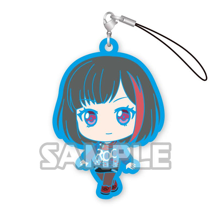 Bang Dream! Afterglow Character Capsule Rubber Mascot Strap Bushiroad Ver.2