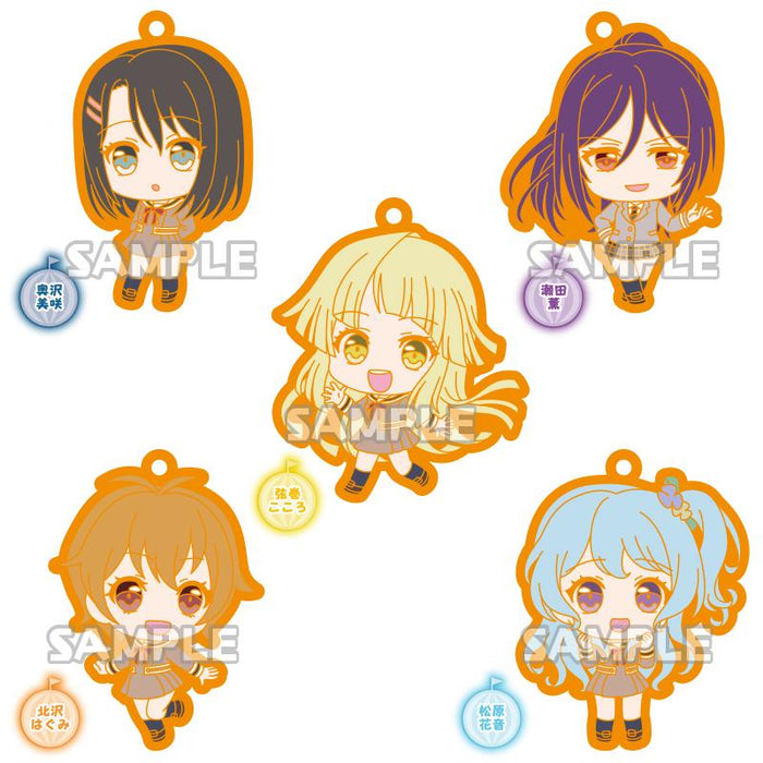 Bang Dream! Hello, Happy World! HaroHapi Bandori Capsule Rubber Mascot Strap Rubber Strap Vol.3 School Uniform Ver.
