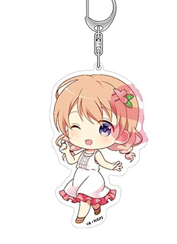 Is the Order a Rabbit? Cocoa - Big Acrylic Deca Key Chain Mascot
