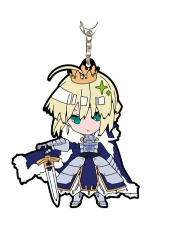 Fate/Grand Order - Saber Altria Pendragon (Artoria) - Rubber Mascot Key Chain