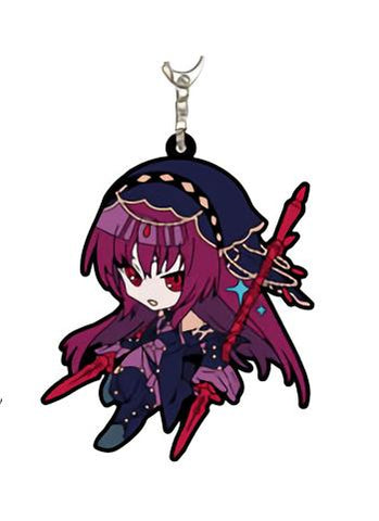Fate/Grand Order - Lancer Scathach - Rubber Mascot Key Chain