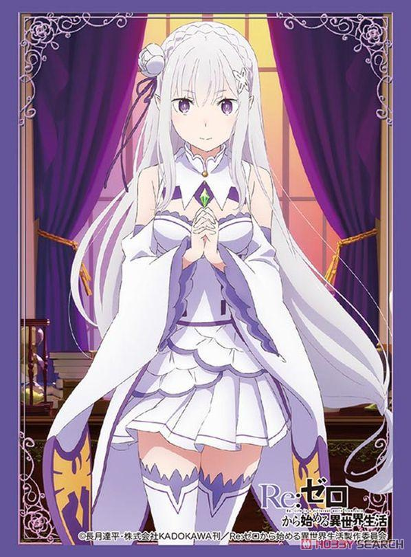 Anime Characters Starting With X : Re zero starting life in another world emilia emt