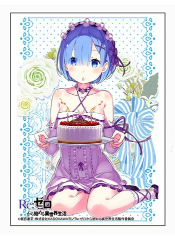 Re:Zero Starting Life in Another World - Rem Birthday Sleeves (Creator's Ver.)