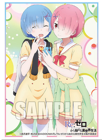 Re:Zero - Rem & Ram - Bushiroad Event Exclusive Sleeves Vol.213