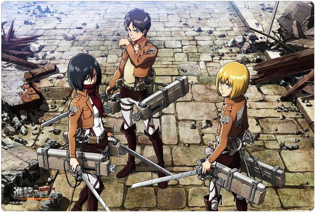 Attack on Titan - Eren & Mikasa & Armin - Rubber Play Mat Vol.99