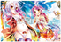 MF Bunko J No Game No Life NGNL - Jibril & Shiro - Rubber Play Mat