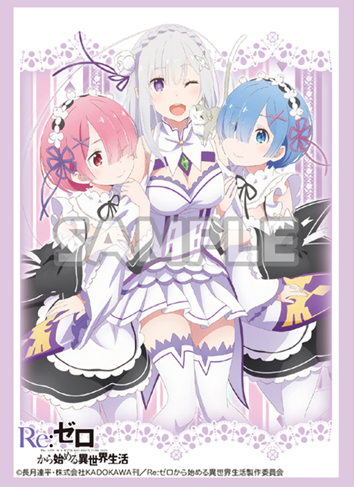 Re:Zero - Emilia Rem Ram Birthday Ver. - Character Sleeves Vol.236
