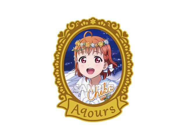 Love Live! Sunshine!! Pin Collection (Angel Ver.) Metal Capsule Badge
