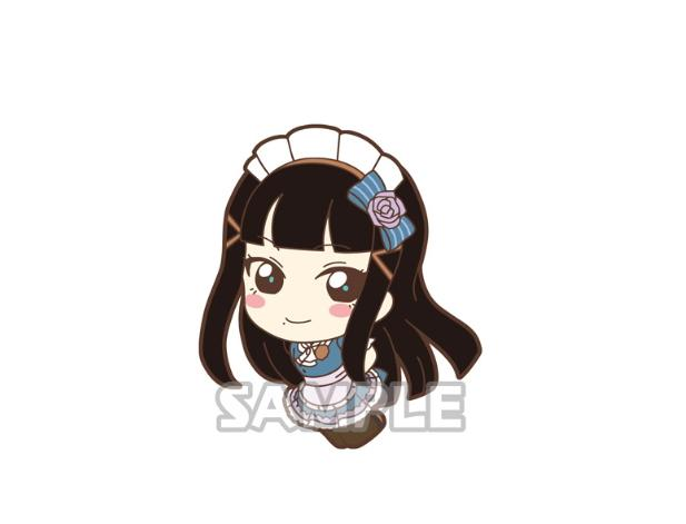 "Love Live! Sunshine!! Mogyutto ""love"" de Sekkin Chuu! Ver. Capsule Mascot Suction Cup"