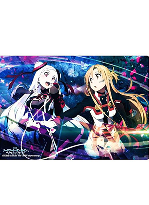 Sword Art Online: Ordinal Scale - Asuna & Yuna - Rubber Play Mat SAO Vol.104