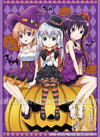 Gochiusa Is the Order a Rabbit? - Rize, Chino & Cocoa Halloween Ver. - Character Sleeves