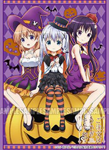 Is the Order a Rabbit? - Rize, Chino & Cocoa Halloween Ver. - Character Sleeves
