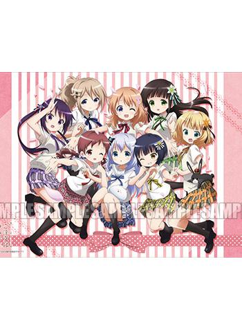 Is the Order a Rabbit? Gochiusa - Full Cast - Character Rubber Play Mat Vol.6