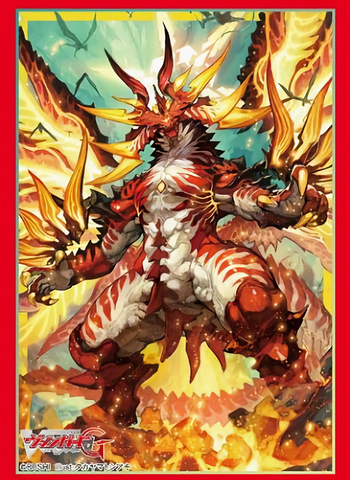 Vanguard - Drachma Zeroth Dragon of Inferno - Mini Sleeves Vol.307