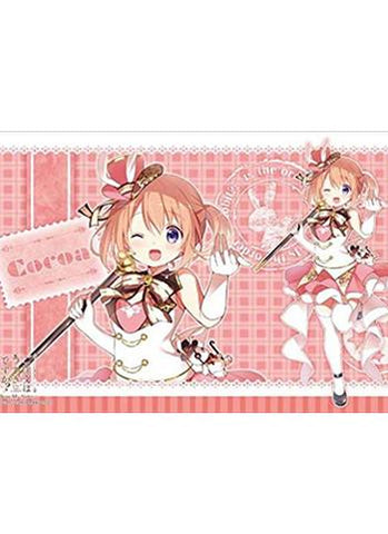 Is the order a rabbit?? - Cocoa - Character Rubber Play Mat Vol.112
