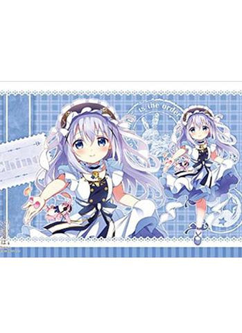 Is the order a rabbit?? - Chino - Character Rubber Play Mat Vol.113