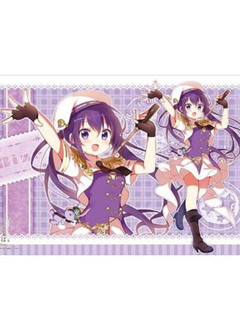 Is the order a rabbit?? - Rize - Character Rubber Play Mat Vol.114