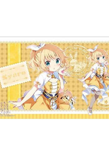 Is the order a rabbit?? - Sharo - Character Rubber Play Mat Vol.116