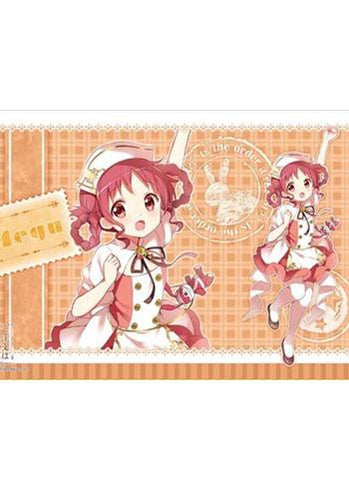 Is the order a rabbit?? - Megumi - Character Rubber Play Mat Vol.118
