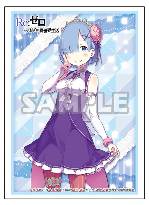 Re: Zero Rem Birthday Ver. Limited Character Sleeves