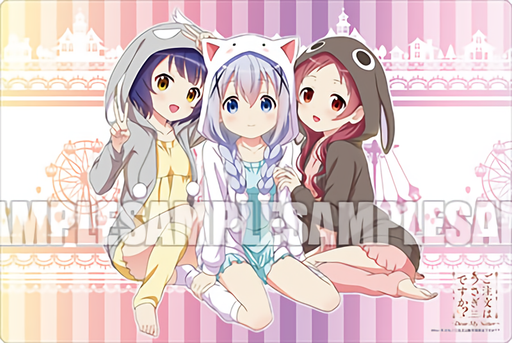 Is the Order a Rabbit Gochiusa - Chino Megumi Maya - Event Exclusive Rubber Play Mat Vol.107