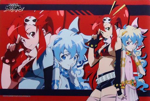 Gurren Lagann - Yoko & Nia Event Exclusive Rubber Play Mat Vol.110