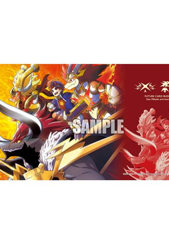 Future Card Buddyfight Buddy × Cross - Event Limited Character Rubber Play Mat