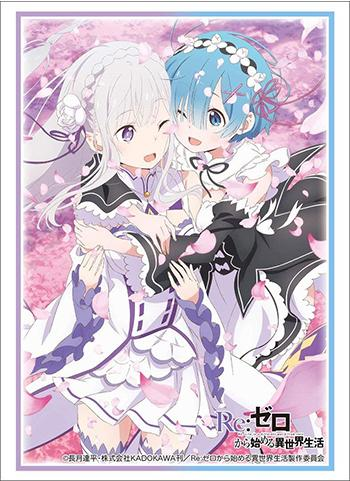 Re: Zero - Emilia EMT & Rem - Character Sleeves HG Vol.1613
