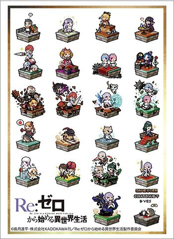 Re: Zero - Pixel Art Ver. - Character Sleeves HG Vol.1614