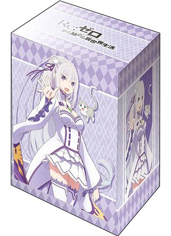 Re: Zero Emilia EMT Character Deck Box  V2 Vol.435