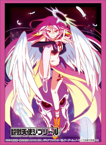 No Game No Life NGNL - Slaughter Angel Jibril - Character Sleeves HG Vol.1629