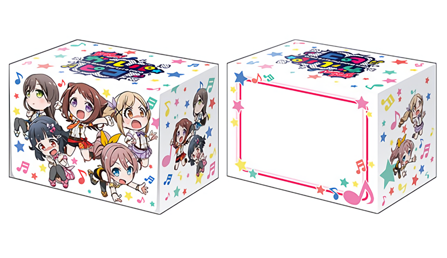 BanG Dream! Girls Band Party! Poppin`Party Pico Full Cast - Deck Box V2 Vol.477