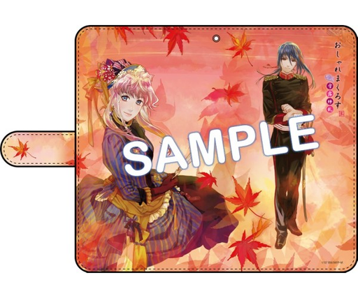 Macross Kyoto Oshare Frontier - Autumn Sheryl - Notebook Type Character Smart Phone Pouch