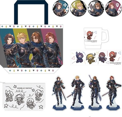 Granblue Fantasy Comiket C97 Four Knights Collection Pack