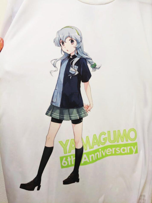 Kantai Collection KanColle - Yamagumo Lawson Uniform - Character T-shirt White