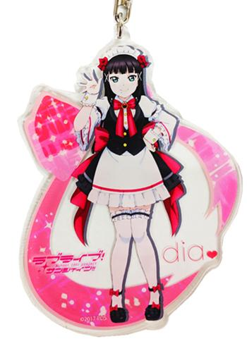 Love Live! Sunshine!! Dia Ikebukuro Love Live Welcome to Uranohoshi Acrylic Deca Key Chain
