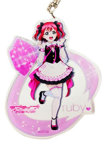 Love Live! Sunshine!! Ruby Ikebukuro Love Live Welcome to Uranohoshi Acrylic Deca Key Chain