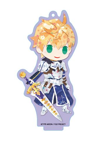 Fate Grand Order FGO Fes GSC Saber Arthur Pendragon - Exclusive Acrylic Key Chain w/Stand