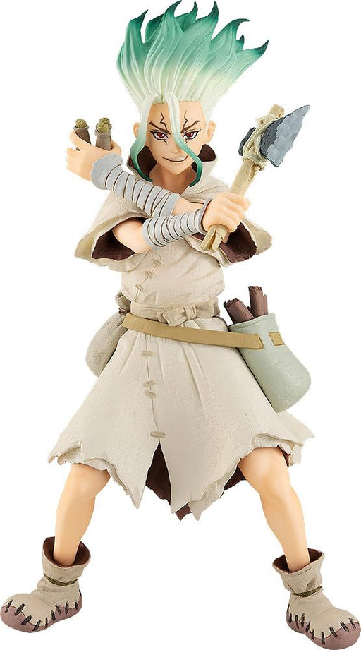 Dr. STONE POP UP PARADE Senku Ishigami - Character Non-Scale Figure (Pre-order) Jan 2021