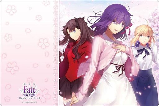 Fate/stay night: Heaven`s Feel - Sakura Rin Altria Saber - Character Rubber Play Mat Vol.249