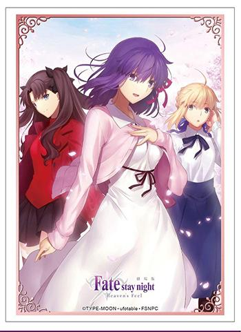 Fate/stay night: Heaven`s Feel - Sakura Rin Altria Saber - Character Sleeves HG Vol.1806