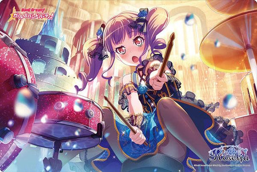 Bang Dream! Roselia Ako Udagawa - Character Rubber Play Mat Vol.281