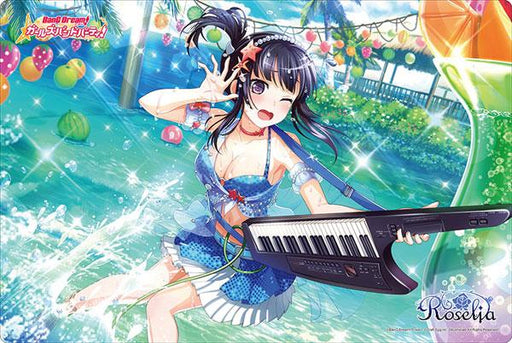 Bang Dream! Roselia Rinko Shirokane - Character Rubber Play Mat Vol.282