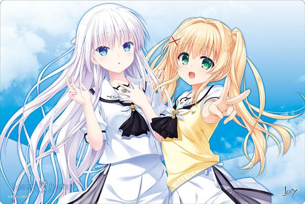 Summer Pockets Shiroha & Tsumugi - Character Rubber Playmat Vol.403